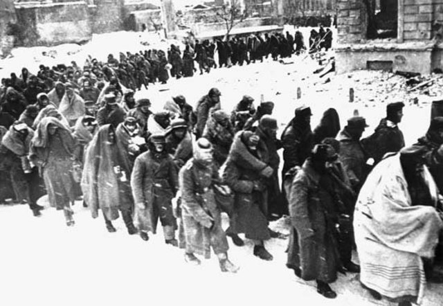Germans retreat from the USSR