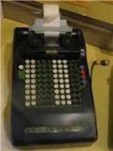 Dorr Felt - Comptómetro