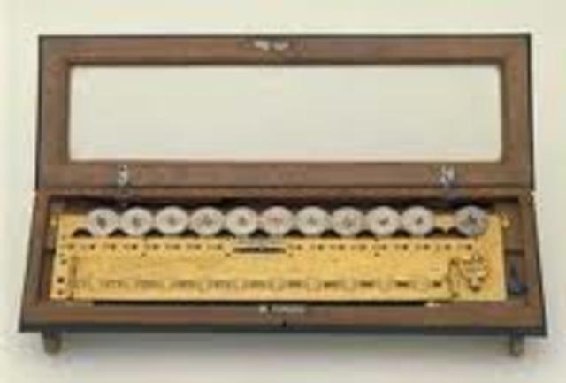 Sir Samuel Morland - La primera máquina de multiplicar