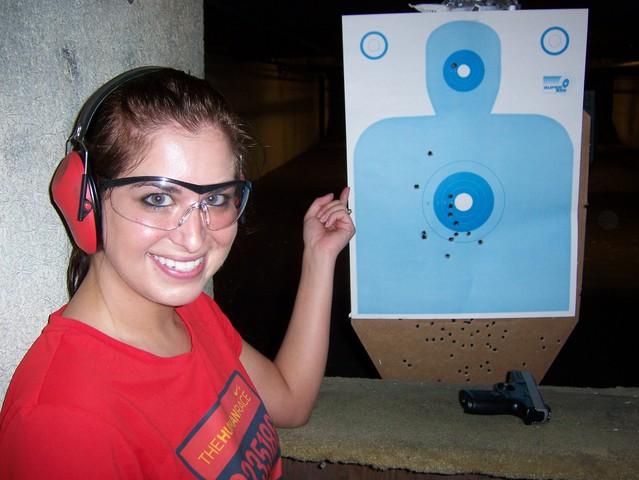 87. Go to a shooting range