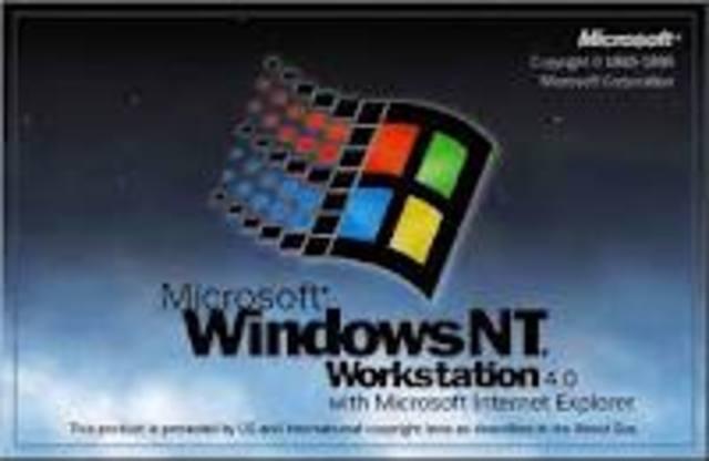 Microsoft lanza al mercado la primera versión del sistema operativo multiusuario de 32 bits (cliente-servidor) Windows NT