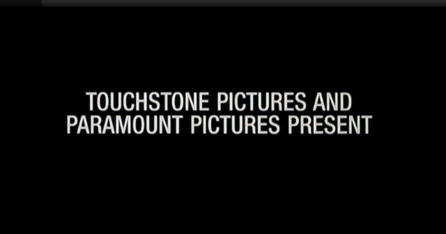 Touchstone Pictures and paramount pictures present
