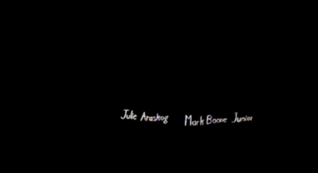 Julie Araskog and Mark Boone Junior