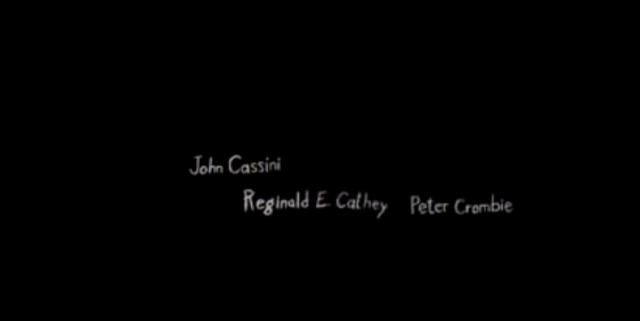 John Cassni, Peter Crombie, Regainald.E.Cathey