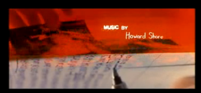 Music By Howard shore