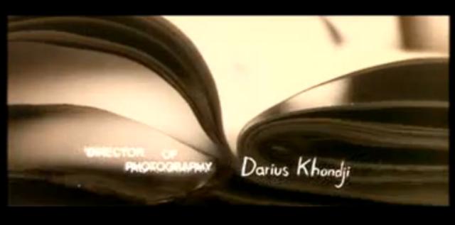Director Of Photography Darius Khondji