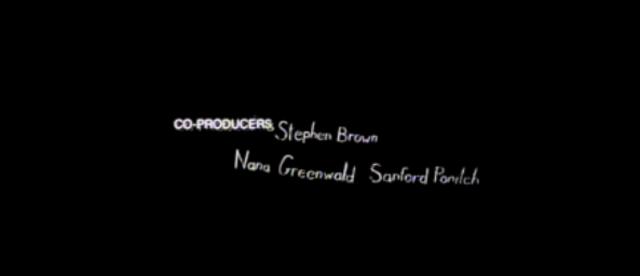 Co-Producers Stephen Brown, Nana Greenwald,Sanford Pailch