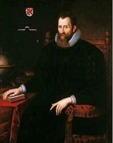 Таблица логарифмов. 1614 год. Джон Непер.
