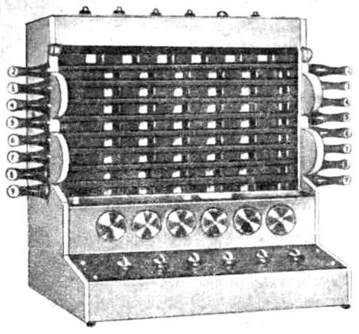 Суммирующая машина Шиккарда. 1623 год.