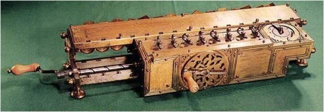 «Вычислитель» Лейбница. 1673 год