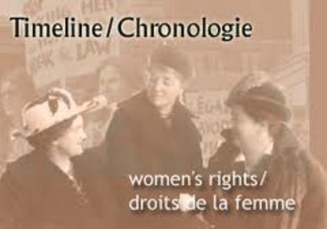 Women vote in Alberta