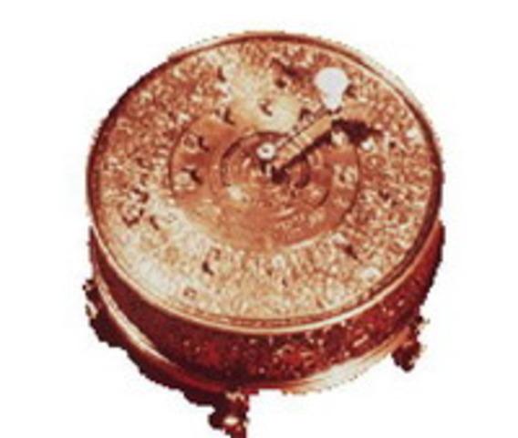 Арифмитическая машина Герстена. 1723 год.