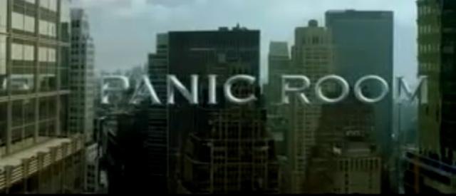 Name of FIlm- Panic Room