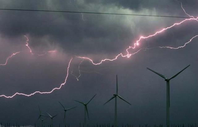 Electricity strikes Ryan