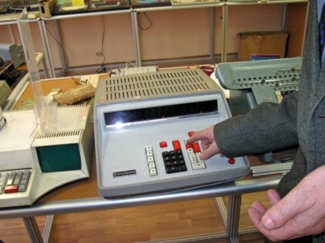 Первые советские электронные калькуляторы. 1971 г.