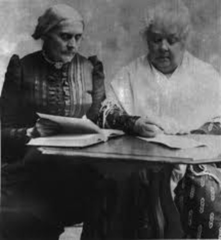 National Women Suffrage Association