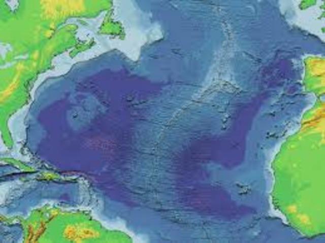 Mid-Atlantic Ridge discovered