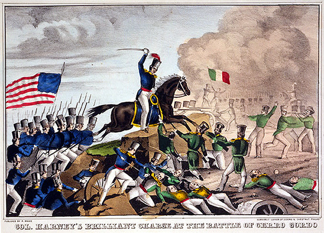 Brevet Major during the Mexican-American War