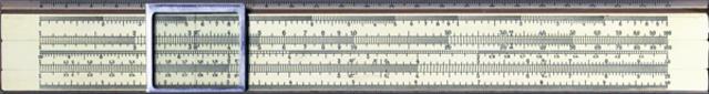 Логарифмическая линейка. Устройство обработки информации.