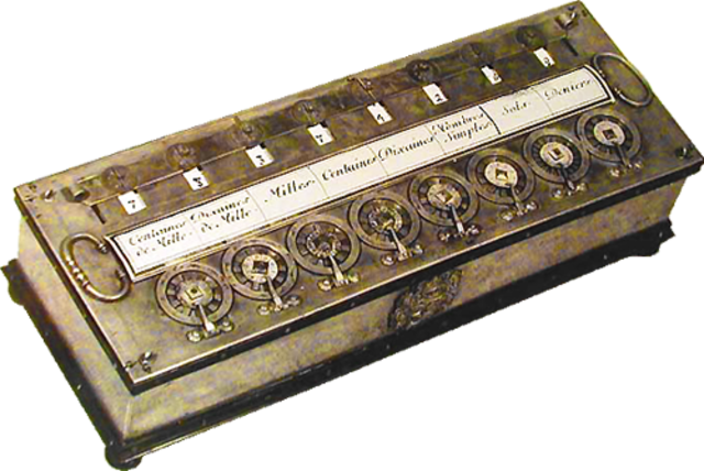 Машина Паскаля. Устройство обработки числовой информации.