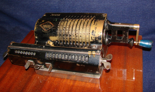 Mechanical calculators are invented