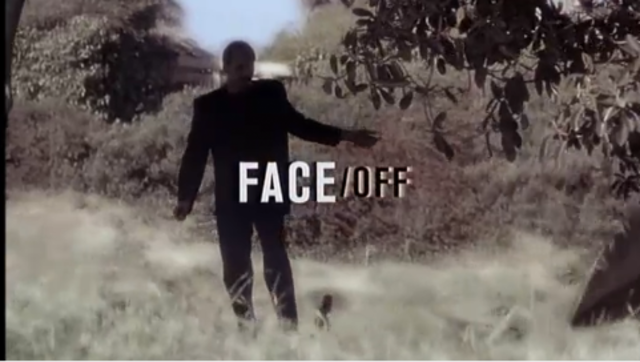 FACE OFF - Title of the film