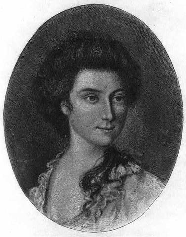 Martha Parke Custis is born