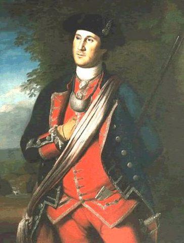 Washington joins the Virginia Militia