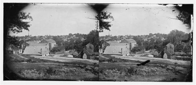 Union defeats Confederates at Petersburg, VA; Richmond falls