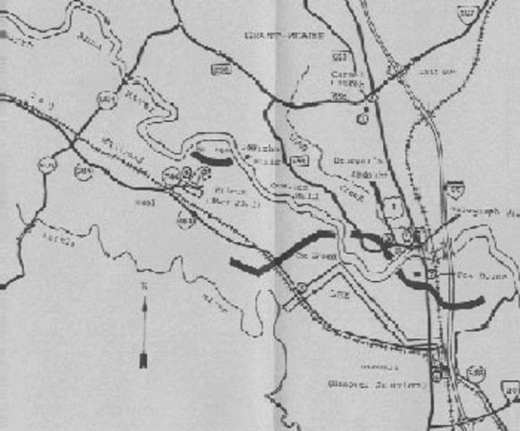Battle of North Anna begins