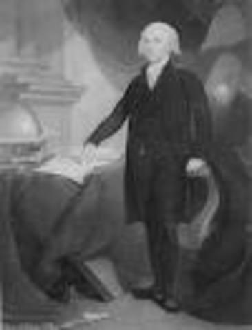James Madison's Inaugeration