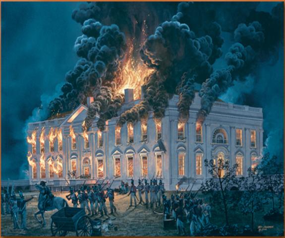 Burning of the White House