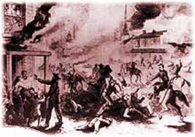 """Border Ruffians"" attack Lawrence"