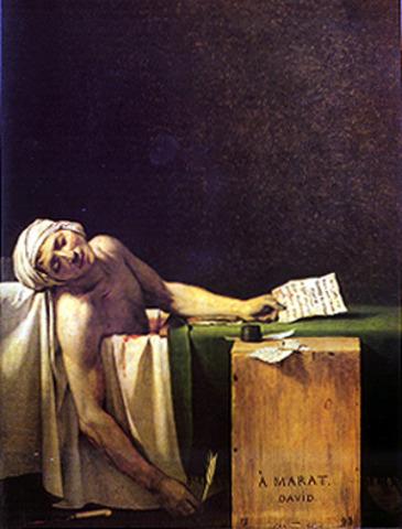 David: The Death of Marat