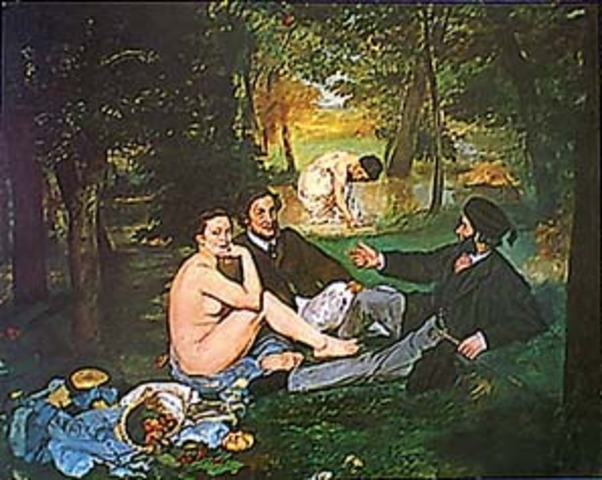Manet: The Luncheon on the Grass