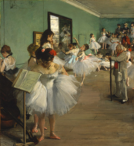Degas: The Ballet Class