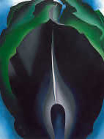 O'Keeffe: Jack-in-the-Pulpit No. IV