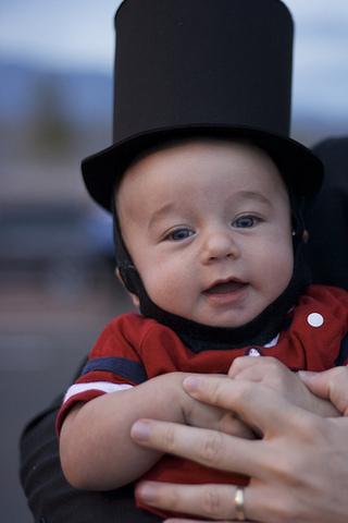 Lincolns second son is born.