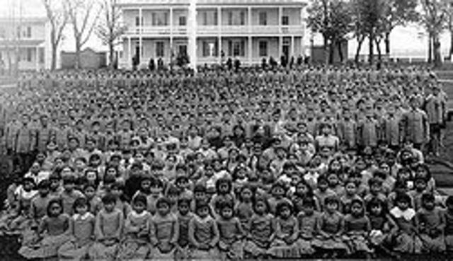 First Native Boarding School Opens