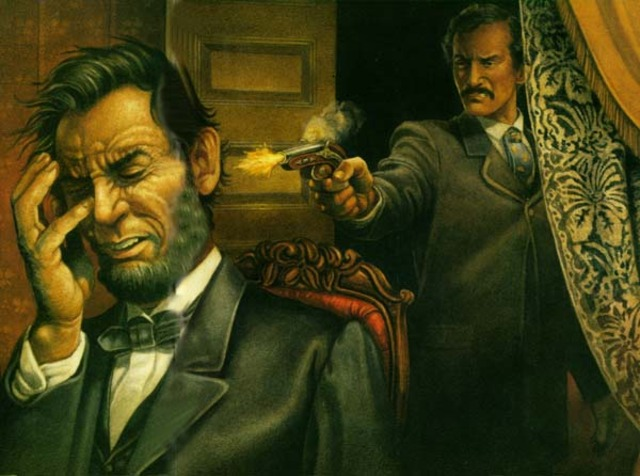 Lincoln is shot.