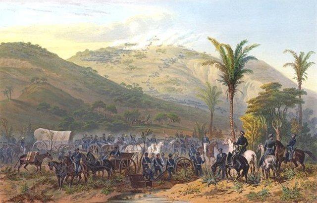 Battle of Cerro Gordo - Lee earns rank of Brevet Major