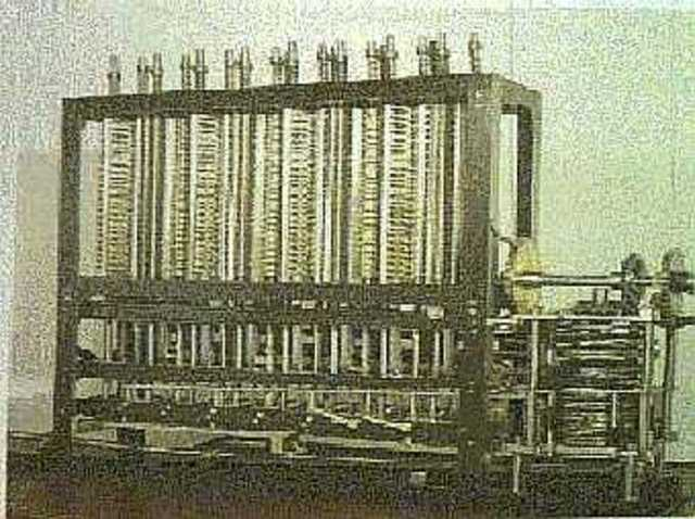 Punch cards used for programming a machine