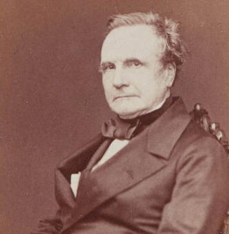 Charles Babbage starts his reseach