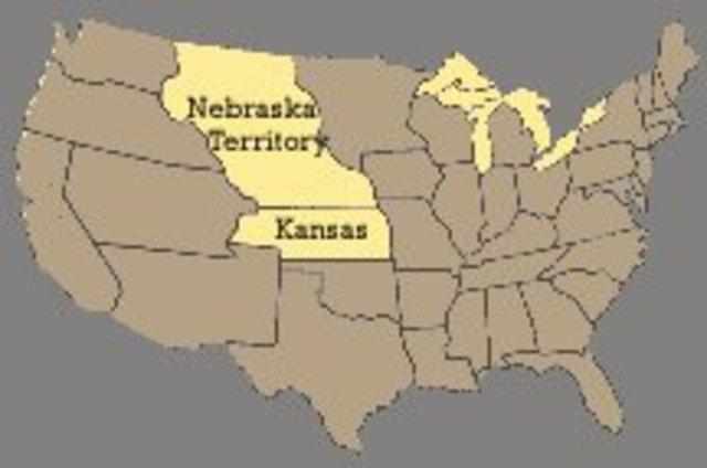 Kansas and Nebraska Act Passed