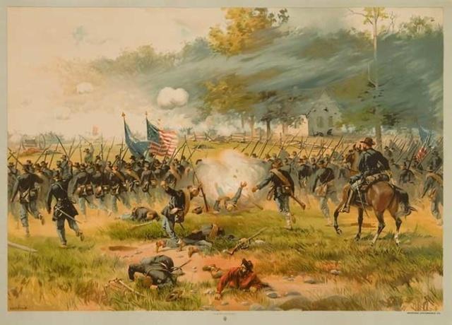 Battle of Antietam occurs