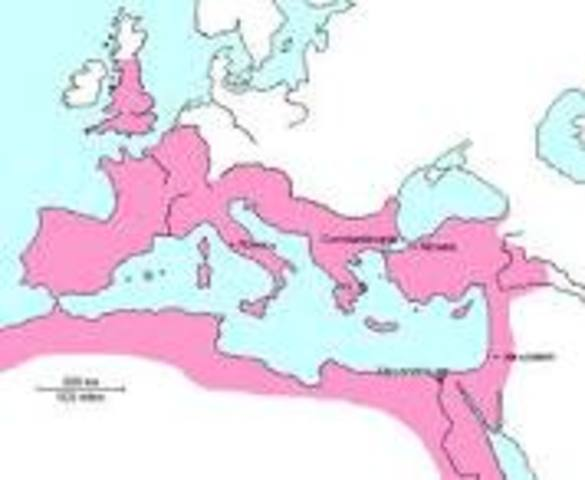 """Constantinople is founded as the """"New Rome."""""""