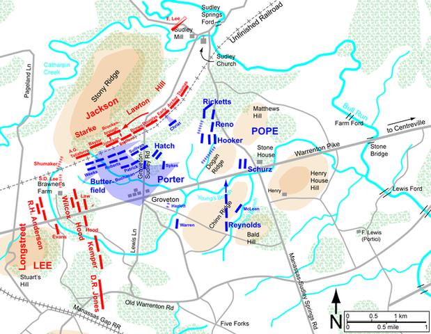 Second Battle of Bull Run begins