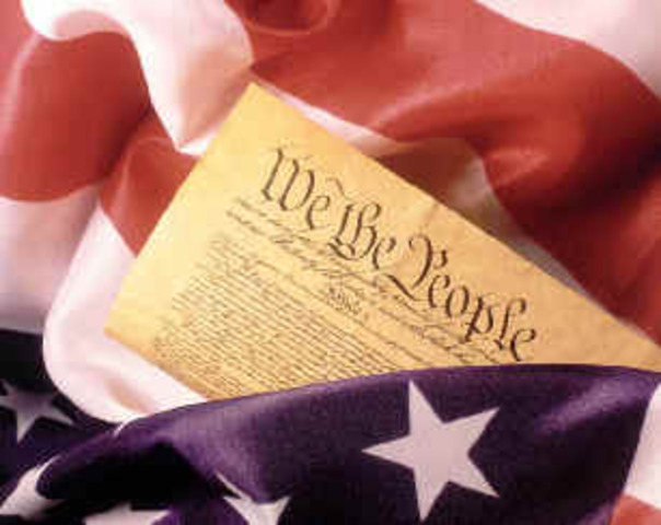 Writing of the Consitution of America