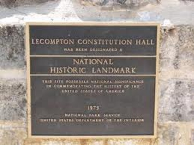 Lecompton Consitution passed