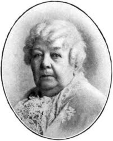 Elizabeth Cady Stanton Dies